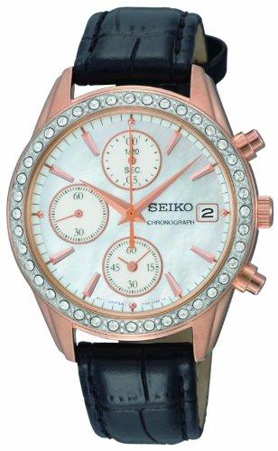 Seiko Women's SNDY14 Chronograph Watch