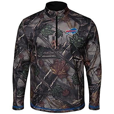 The Woods Majestic Buffalo Bills Camo 1/2 Zip Jacket