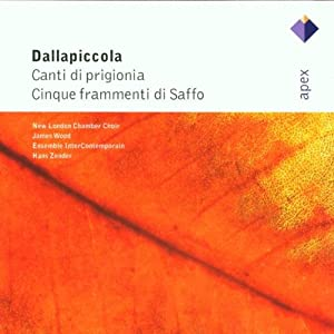 Dallapiccola - Choral Works by Apex