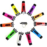 UV Neon Face & Body Paint 10ml 8 Colours Available by Paintglow®