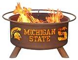 Patina Products F403 Michigan State Fire Pit