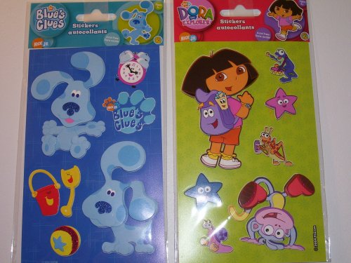 Blues Clues and Dora the Explorer Stickers (Sold As a Set) - Buy Blues Clues and Dora the Explorer Stickers (Sold As a Set) - Purchase Blues Clues and Dora the Explorer Stickers (Sold As a Set) (Sandylion, Toys & Games,Categories,Arts & Crafts,Stamps & Stickers)