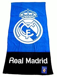 Serviette officielle De FC Real Madrid, 150 cm x 75cm - Marchandise certifiée Real Madrid