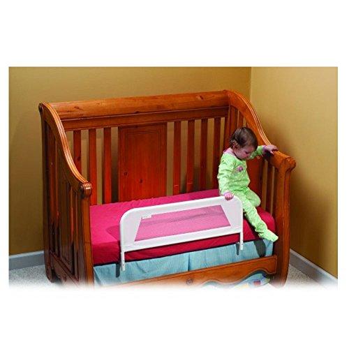 KidCo Convertible Crib Mesh Bed Rail White Furniture Baby