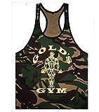 Eastabile Mens Camouflage Tank Top Vest Sport Training Undershirt