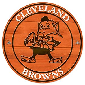Cleveland Browns 19.75 Inch Wood Sign by WinCraft