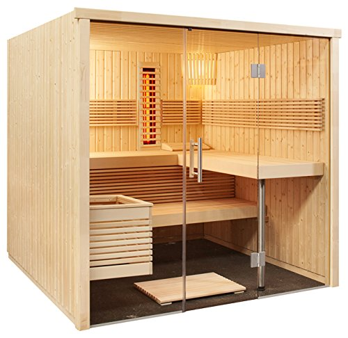 Well-Solutions-Element-Sauna-Kabine-Panorama-All-in-mit-Infrarot