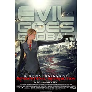 Resident Evil Retribution 24x36 Movie ArtPrint Poster 020C/Middle Size