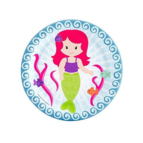 Mermaids Dessert Plates (8)