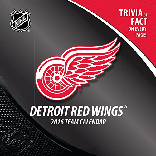 Turner Detroit Red Wings 2016 Box Calendar, January-December (8051461)