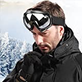 WOLFBIKE Snow Googles Windproof UV400 Motorcycle Snowmobile Ski Goggles Eyewear Sports Protective Safety Glasses