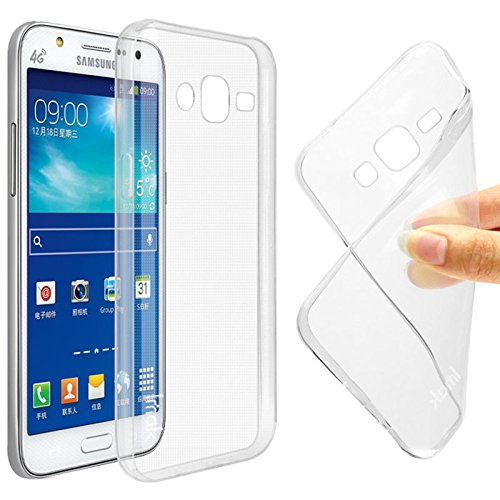 Hutz Ultra Thin Soft Silicon TPU Flexible Transparent Back Case Cover Compatible With Samsung Galaxy Core GT-I8262  available at amazon for Rs.149