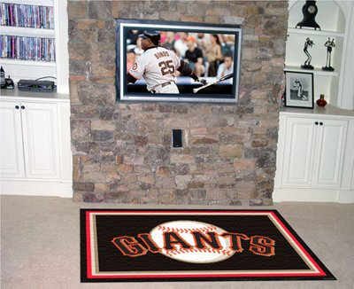 Giants 4' x 6' Area Rugs