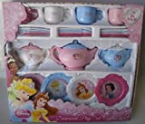 Disney Princess Dinnerware Dish Tea Set 26 Pieces