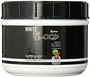 Controlled Labs White Flood Reborn Preworkout Supplement, Watermelon, 214 Gram