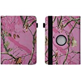 "Pink Girls Camo - Universal 7"" inch Tablet Case Cover Adjustable Stand Fits - Kindle Fire / Fire HD , Kindle Fire HDX, iRulu,"