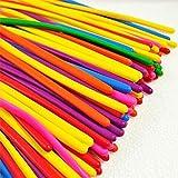 logei® 200St Magic Modellierballons bunte Luftballons Ballons Deko Ballon, Qualatex, für Party Hochzeit Geburtstag, zufällige Farbe