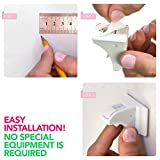 Nexpa-Safety-ChildProof-Magnetic-Cabinet-Locks-8-Locks3-Keys8-Key-Bases-For-Cupboard-Drawer-Etc-New-Improved-Easy-Installation-Completely-Secure-For-Baby-Child-Proofing-White