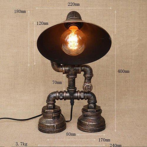 cage-fer-horn-cap-interieur-vintage-tuyau-metallique-industrielle-robinet-tuyau-lampe-garcon-posture