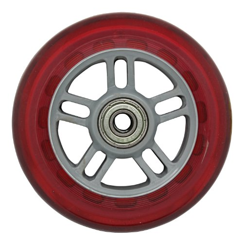 JD RAZOR 4-inch wheels (with bearing) RED