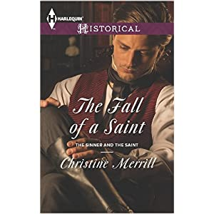 The Fall of a Saint by Christine Merrill