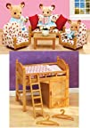 Calico Critters Sisters Loft Bed and…