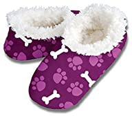 Paws and Bones Violet Snoozies Womens…