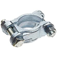 Dixon DL Series Zinc Plated Iron Double Bolt Clamp without Saddle