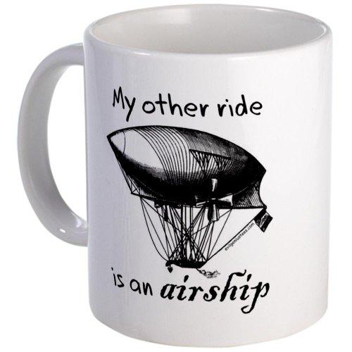 Other Ride Is An Airship Steampunk Mug Mug By Cafepress