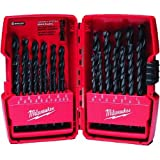 Milwaukee Accessory 48892802 Milwaukee Thunderbolt 29-Piece Black Oxide Drill Bit Set