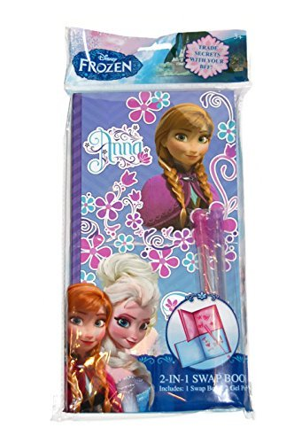 Disney Frozen 2-in-1 Swap Book, Anna - Share Secrets, Thoughts and Ideas with Your Best Friend