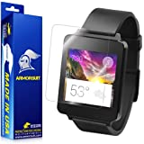 ArmorSuit MilitaryShield - LG G Watch Screen Protector Anti-Bubble Ultra HD - Extreme Clarity & Touch Responsive Shield with Lifetime Free Replacements - Retail Packaging