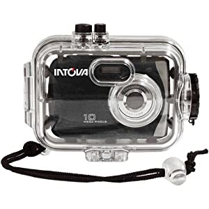 Intova Sport 10K Waterproof Digital Camera with 140' Waterproof Housing