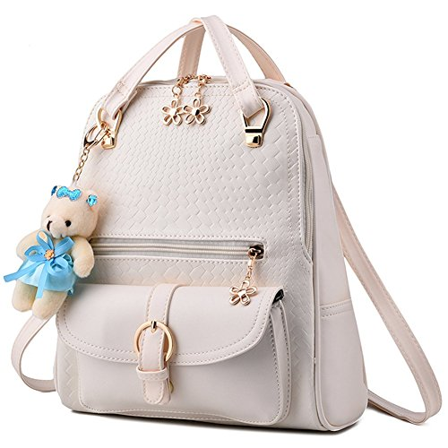 Easy Love Bella Zaino In Pelle PU Teens Ragazze Borsa A Tracolla Satchel