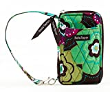 Bella Taylor Javabloom Quilted Cotton Wristlet Wallet