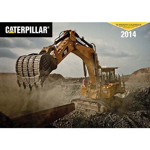 Caterpillar 2014 Deluxe Wall Calendar Picture