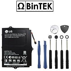 BinTEK LG Optimus Pad Battery V900 Battery SBPP0028901 6400mAH Li-Polymer Premium BL-T1 Battery for Optimus Pad with Opening Repair Tool Kit / Compatible with Model V900