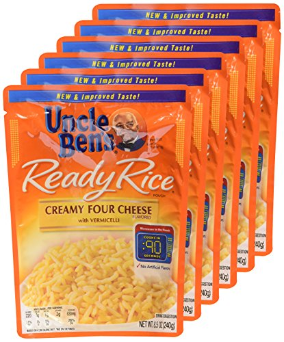 uncle-bens-ready-rice-creamy-four-cheese-85oz-pouch-pack-of-6