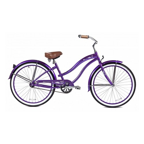 Micargi Rover LX Beach Cruiser Bike, Purple, 26-Inch