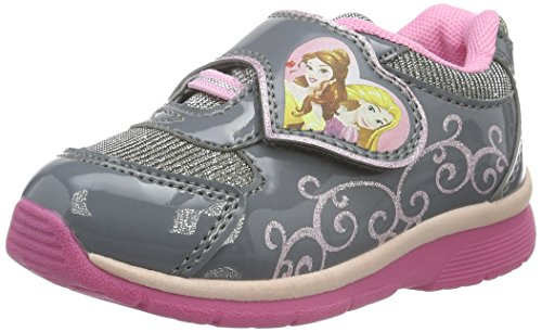 Disney PrinzessinGirls Kids Athletic Sport - Scarpe da Ginnastica Basse Bambina , Argento (Silber (Pewter/PEWTE 329)), 26