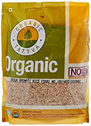 Organic Tattva Brown Basmati Rice, 1kg