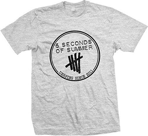 5 Seconds of Summer Derping Heather T-Shirt