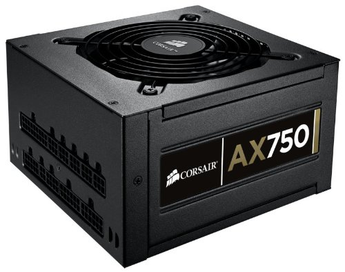 Corsair AX750 Professional Series 750W AX ATX/EPS Fully Modular 80 PLUS Gold PSU