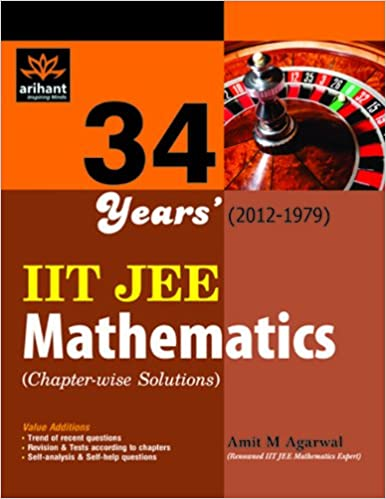 IIT JEE Mathematics 34 Year's (2012 - 1979) 1st Edition price comparison at Flipkart, Amazon, Crossword, Uread, Bookadda, Landmark, Homeshop18