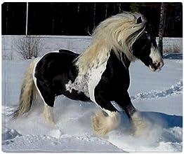 CafePress Irish Cob Horse Throw Blanket - Standard Multi-color