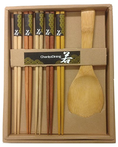 Japanese Chopsticks Gift Set (Rice Paddle Included)