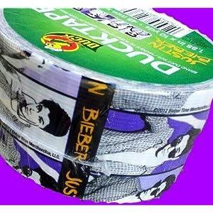 Duck Tape Justin Bieber Print (1.88-Inch X 10 Yd)