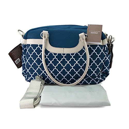 jj cole satchel diaper bag navy arbor apparel accessories handbags wallets cases handbags satchels. Black Bedroom Furniture Sets. Home Design Ideas