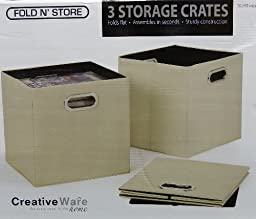 Fold N\' Store 3 Storage Crates