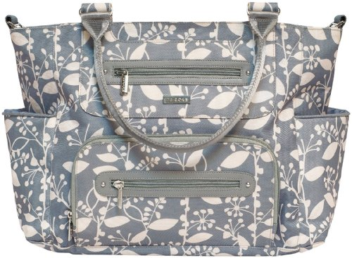 JJ Cole Caprice Diaper Bag, Ash Woodland